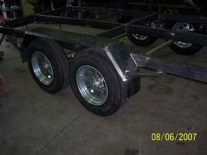 New trailer Chassis.